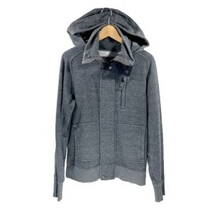 Lululemon Men's Small Full-Zip Hoodie Jacket Grey
